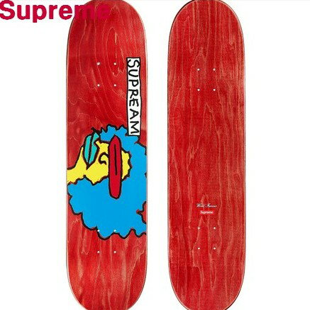 Red 【Supreme シュプリーム 17AW Gonz Ramm Skateboard スケートデッキ マークゴンザレス スケートボード スケボー デッキ 赤 レッド】