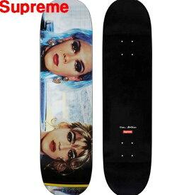 18ss【Nan Goldin/Supreme Misty and Jimmy Paulette Skateboard ナン ゴールディン/シュプリーム スケートボード デッキ スケボー】