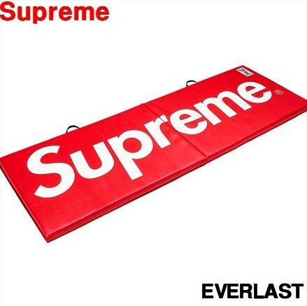2017AW Red【Supreme x Everlast Folding Exercise Mat シュプリーム エバーラスト フォールディング エクササイズ マット レッド 赤】