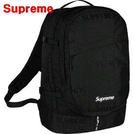 Black【Supreme 19ss Backpack シュプリーム バックパック バッグ リュックサック BOX LOGO ボックスロゴ 黒 ブラック】