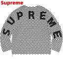M Checkerboard【Supreme Back Logo Sweater シュプリーム バック ロゴ セーター ニット チェカーボード 2020SS】