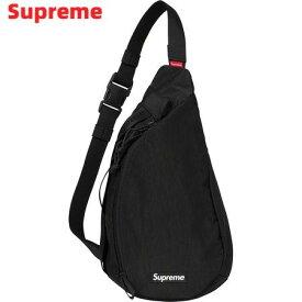 人気 Black【Supreme 20AW Sling Bag シュプリーム スリングバッグ ワンショルダーバッグ 黒 ブラック 2020FW 2020AW】