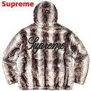 M Black【Supreme Faux Fur Reversible Hooded Jacket シュプリーム ファー リバーシブル フーデッド ジャケット 2020…