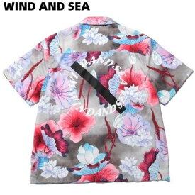 L【WIND AND SEA SATURDAYS SURF × WDS CANTY VIVID LOTUS / LOTUS (SAT-2S-06) サタデーズ サーフ × ウィンダンシー シャツ】