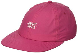 Obey Maxin Snapback Hat Magenta キャップ 送料無料