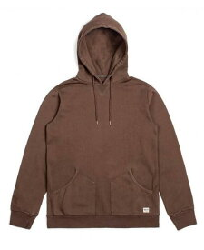 Brixton Hackney Pullover Hoodie Washed Brown S パーカー 送料無料