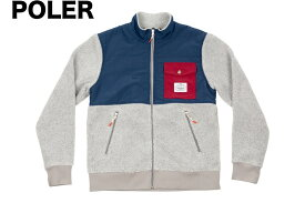 Poler Half Fleece Jacket Grey L 送料無料
