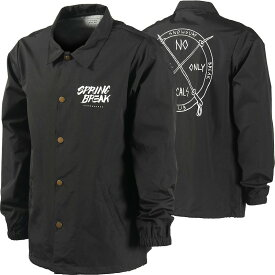 16-17 Capita Spring Break Surf Club Coach Jacket Black M コーチジャケット