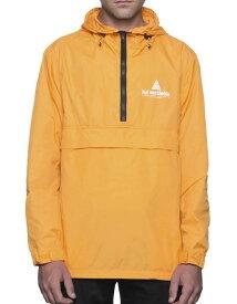 HUF Peak Anorak Jacket Cantaloupe L 送料無料