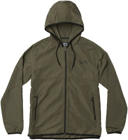RVCA Axe Packable Jacket Olive S コーチジャケット 送料無料