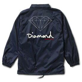 Diamond Supply Co. OG Sign Coaches Jacket Navy S コーチジャケット 送料無料
