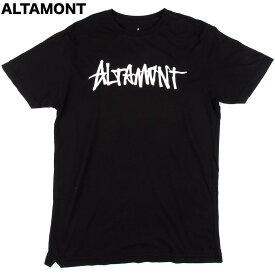 Altamont One Liner T-Shirt Black S Tシャツ 送料無料