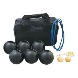 サンラッキー ペタンク ブラック球セット SRP-24 国際連盟公認球