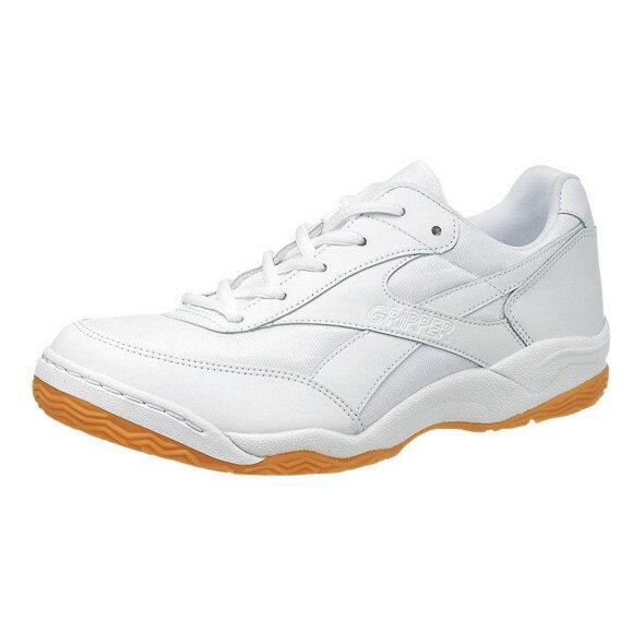 アサヒ グリッパー34 ホワイト/ホワイト KD78641 インドア 体育館シューズ 中学校 高校