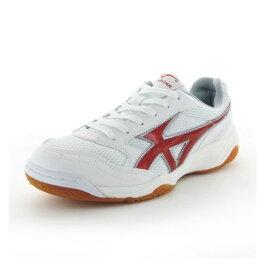 ムーンスター ジムスターS400 W/レッド 高機能体育館シューズ インドア 子供靴/メンズ/レディース
