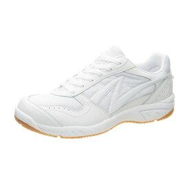 アサヒ グリッパー37 ホワイト/ホワイト KD78765 インドア 体育館シューズ 中学校 高校