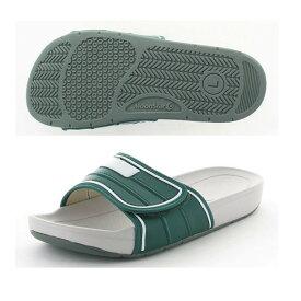 ムーンスター スクールサンダル 02 Dグリーン インドア 子供靴/メンズ/レディース