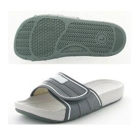 ムーンスター スクールサンダル 02 Dグレー インドア 子供靴/メンズ/レディース