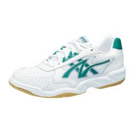 アサヒ グリッパー32 ホワイト/グリーン KD78623 インドア 体育館シューズ 中学校 高校