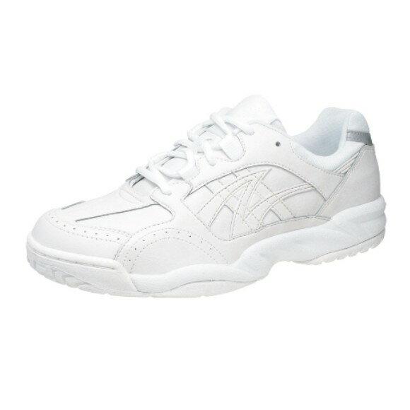 アサヒ グリッパー33 ホワイト/ホワイト KD78631 スクール グランド 運動靴 通学シューズ 中学校 高校