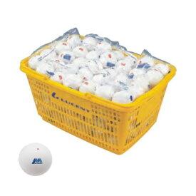 HEDお買い得!ボールキャンペーン ルーセント アカエムプラクティス ソフトテニスボール練習球(10ダース・カゴ入り) M-40030
