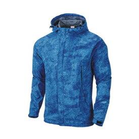 wundou(ウンドウ) アウトドアウインドブレーカージャケット ユニセックス 男女兼用 撥水 P4610 ロイヤルブルーミックスホワイト