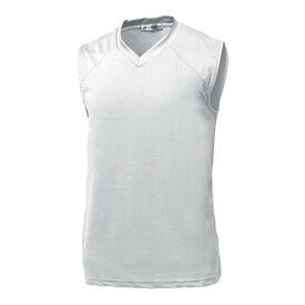 ウンドウ wundou ベーシックバスケットシャツ P1810-00 ホワイト バスケットボール
