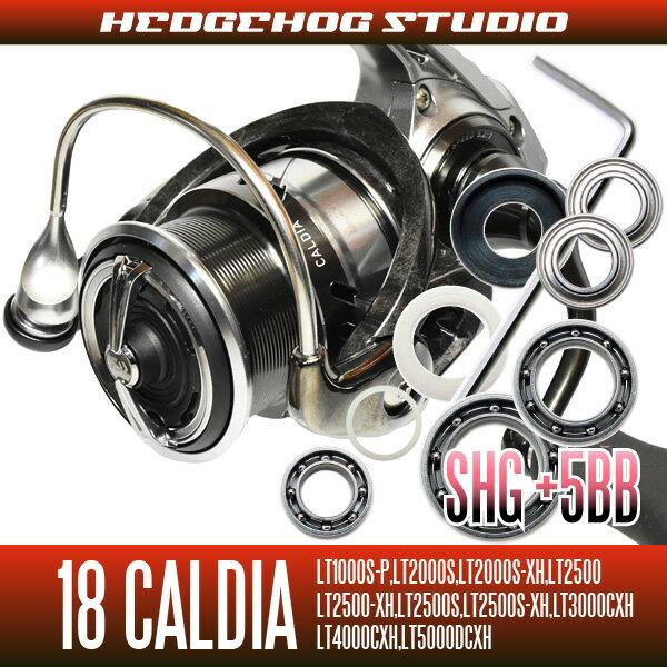 【HEDGEHOG STUDIO/ヘッジホッグスタジオ】18カルディア LT1000番-5000番用 MAX10BB フルベアリングチューニングキット 【SHGプレミアムベアリング】