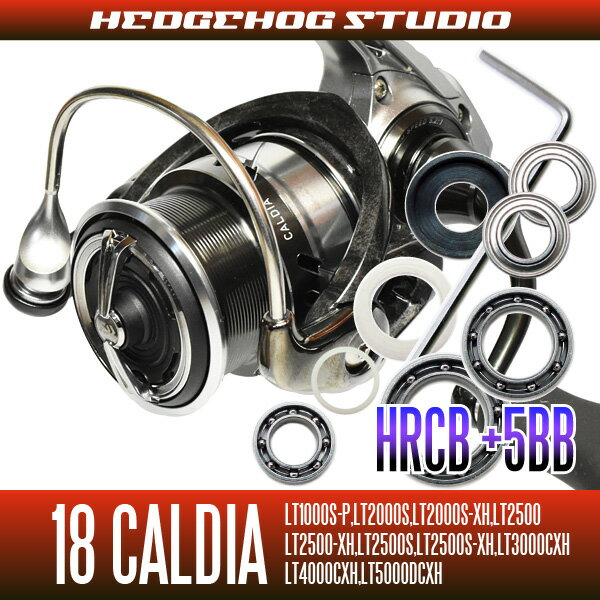 【HEDGEHOG STUDIO/ヘッジホッグスタジオ】 18カルディア LT1000番-5000番用 MAX10BB フルベアリングチューニングキット 【HRCB防錆ベアリング】