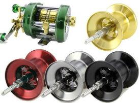 【Avail/アベイル】ABU Ambassadeur 2500C用 浅溝軽量スプール Microcast Spool 【AMB2520R:溝深さ2.0mm】