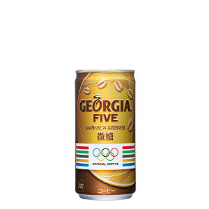【3ケースセット】ジョージア ファイブ 缶 185g