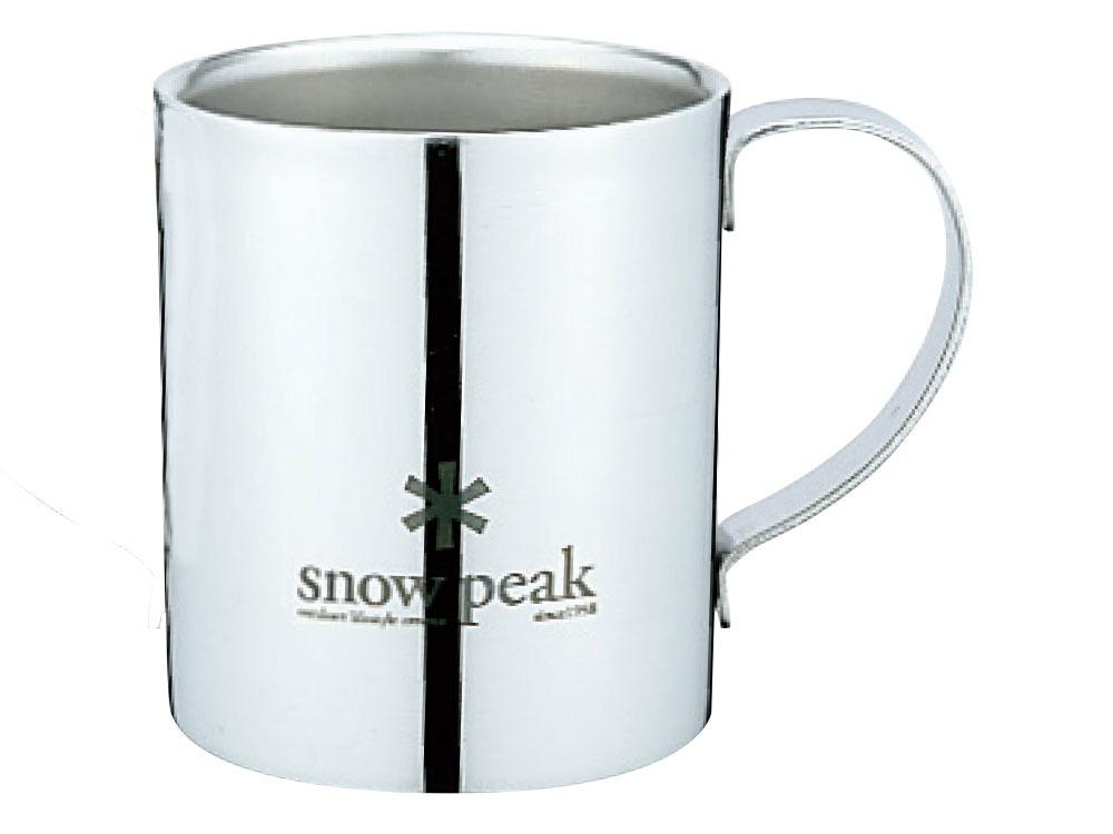 snowpeak/スノーピーク スノーピークロゴダブルマグ 240