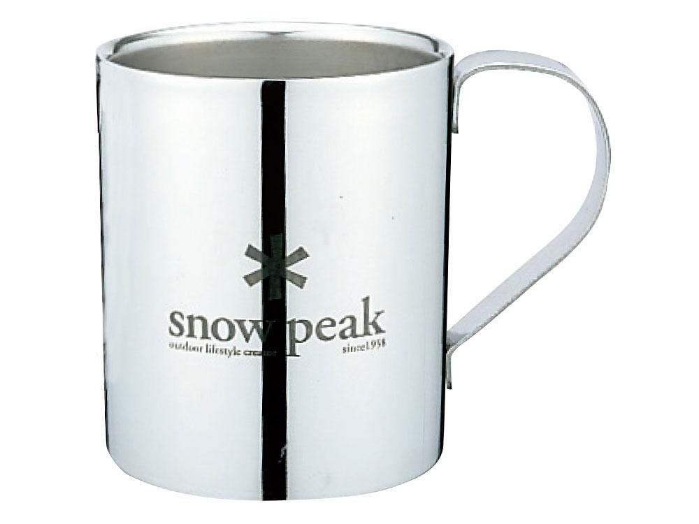 snowpeak/スノーピーク スノーピークロゴダブルマグ 330