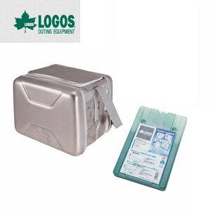 ロゴス LOGOS ハイパー氷点下クーラーL+倍速凍結・氷点下パックL 2点セット
