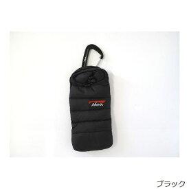 ナンガ NANGA ミニスリーピングバッグ携帯ケース Mini sleeping bag phone case ブラック
