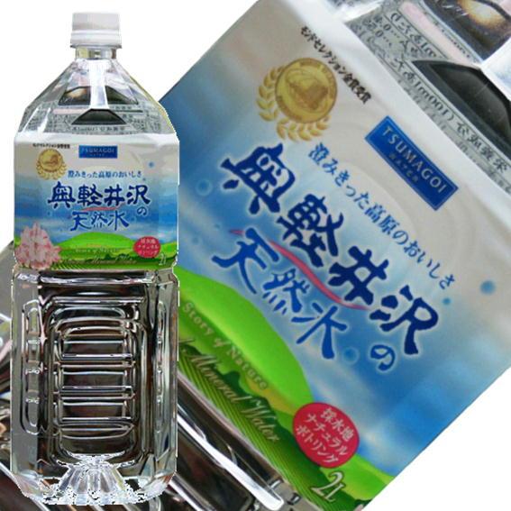 【送料無料】奥軽井沢の天然水2L×6本入×2ケースセット(12本)【smtb-T】