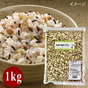 (55)【送料無料】奈美悦子ブレンド 健康で美人 業務用(1kg)   国内産 16種雑穀米 もち麦 お徳用