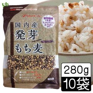 (55)【送料込】【10袋】国内産 発芽もち麦280g×10袋 (ダイシモチ)