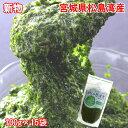 (334)宮城県から直送!! 冷凍 おさしみぎばさ(アカモク) 1.5kg(100g×15袋) レシピ本付き