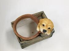 【置物】箱型ポット子犬_02