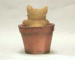 【置物】いねむり小犬チワワ(BJ-358)[g1]