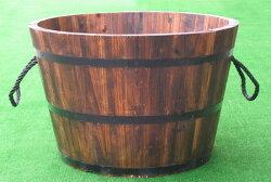 大型木製プランター焼杉L