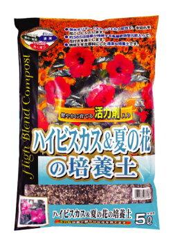 SCGハイビスカス&夏の花の培養土約5L