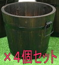 焼杉プランター 深型 大 「4個セット」[g12]【クーポン配布店舗】