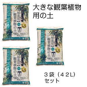 【送料無料】大型観葉植物の土 約14L×3袋セット(計42L)[g25]【クーポン配布店舗】【ポイント10倍 2月末日まで】