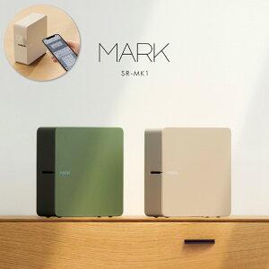 スマホ対応 ラベルプリンター「テプラ」PRO【MARK】キングジム SR-MK1 全2色