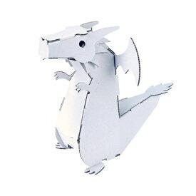 【ネコポス対応】hacomo ダンボール工作キット ドラゴン