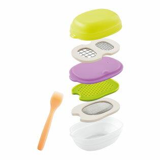 ベビー食器 Combi(コンビ) ベビーレーベル 離乳食ナビゲート調理セットC【コンビニ受取対応商品】