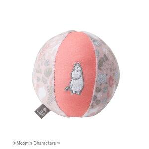 キャラクター玩具 DADWAY MOOMIN BABY ( ダッドウェイ ムーミンベビー ) ベビーボール ムーミンフラワー ピンク