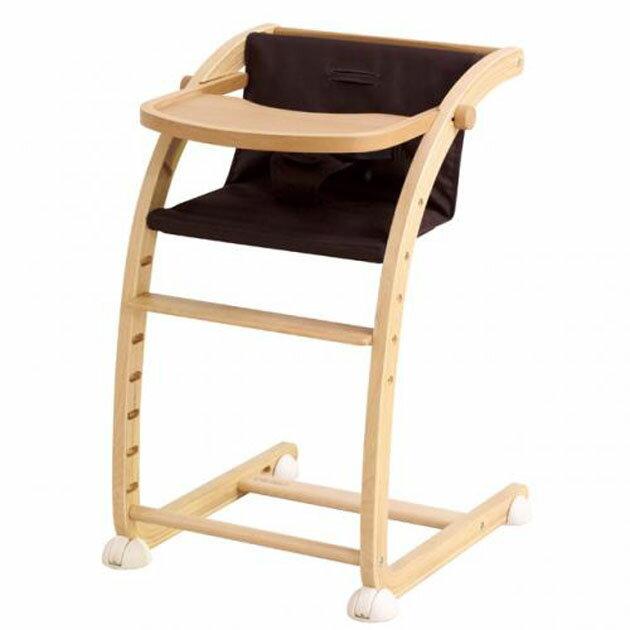 ベビーチェア farska(ファルスカ) Scroll Chair Plus(スクロールチェアプラス) ブラウン